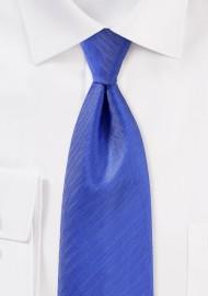 Herringbone Tie in Marine Blue
