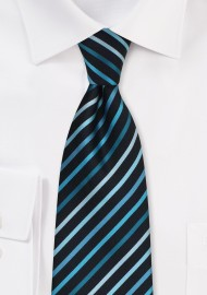 Turquoise and Teal Kids Tie