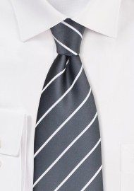 Classic Neckties - Taupe gray men's tie