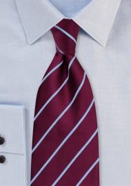 Striped Neckties - Purple necktie