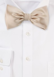 Bow Tie in Champagne