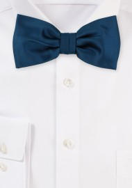 Bow Tie in Dark Teal