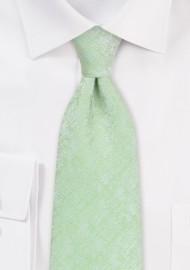 Light Cypress Green Kids Length Tie
