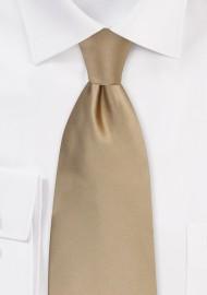 Kids Necktie in Cappuccino Brown