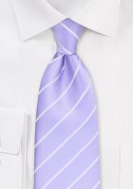 Lavender neckties - Modern light lavender colored necktie