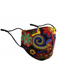 Flower Power Colorful Face Mask
