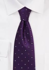 amethyst designer tie by PUCCINI