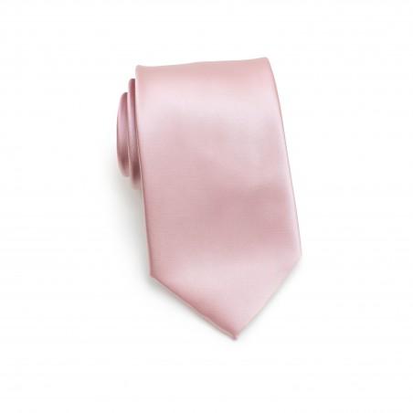Wedding Necktie in Soft Pink