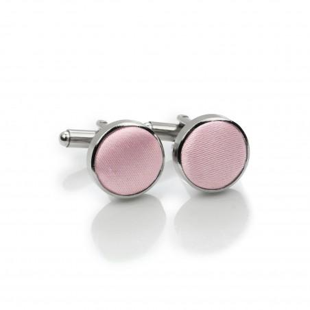 Wedding Cufflinks in Soft Pink
