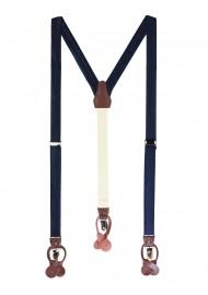 Wedding Suspenders in Navy