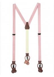 Soft Pink Suspenders