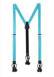 Bold Aqua Suspenders
