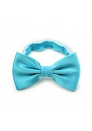 Bold Aqua Bow Tie