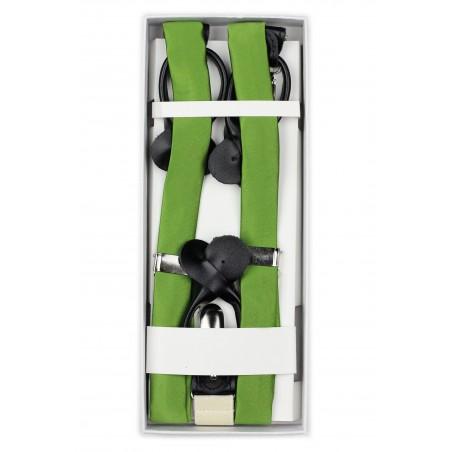 Clover Green Suspenders in Box