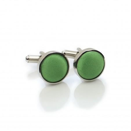Clover Green Cufflinks
