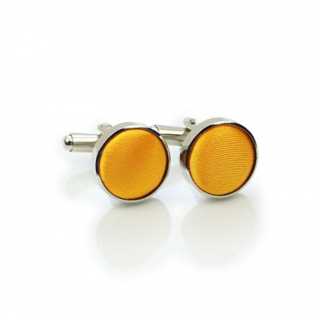 Golden Saffron Cufflinks