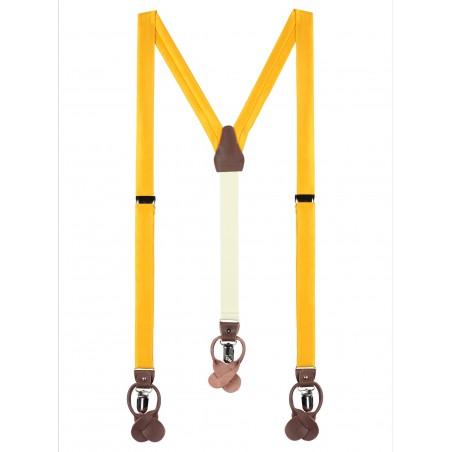 Golden Saffron Suspenders