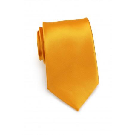 Golden Saffron Necktie