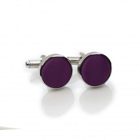 Bright Purple Cufflinks