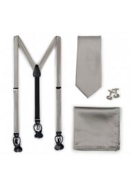 Mercury Silver Suspender...