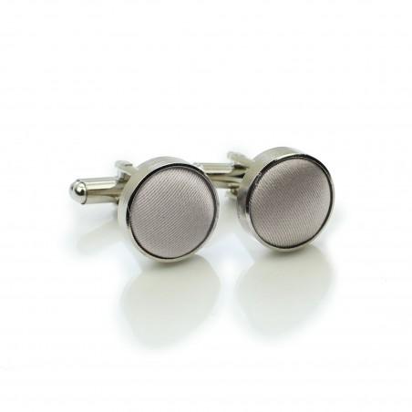 Elegant Silver Cufflinks