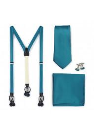 Oasis Suspender Necktie Set