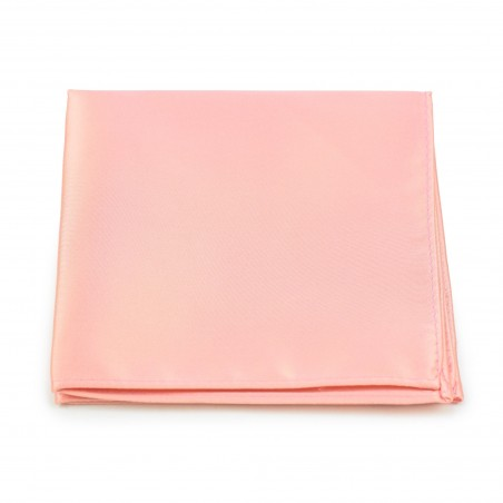 Candy Pink Pocket Square