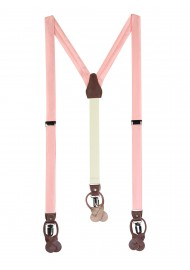Candy Pink Suspenders