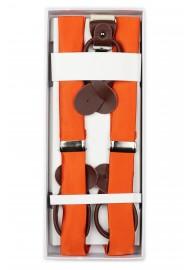 Persimmon Orange Suspenders in Box