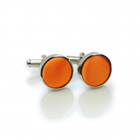 Persimmon Orange Cufflinks