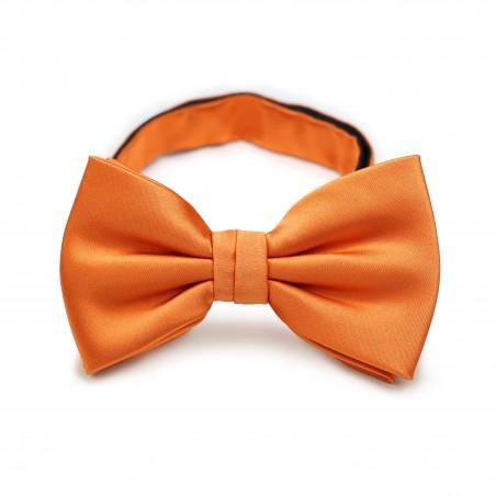Persimmon Orange Bow Tie