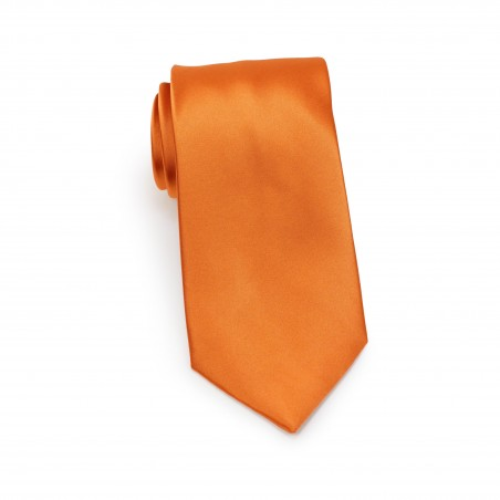 Persimmon Orange Necktie