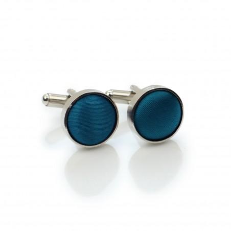 Teal Blue Cufflinks