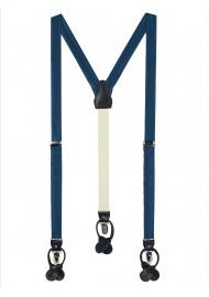 Teal Blue Suspenders