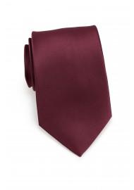 Plum Necktie