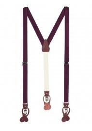 Plum Suspenders