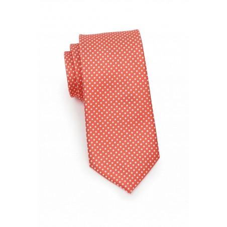 Coral Mens Tie