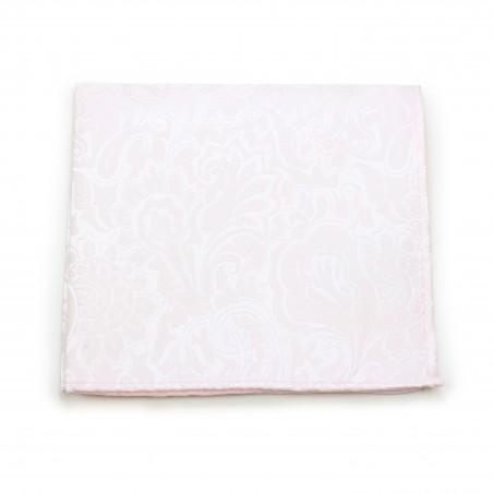 Soft Blush Pocket Square