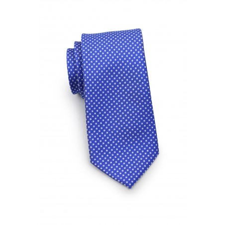 Horizon Blue Pin Dot Tie