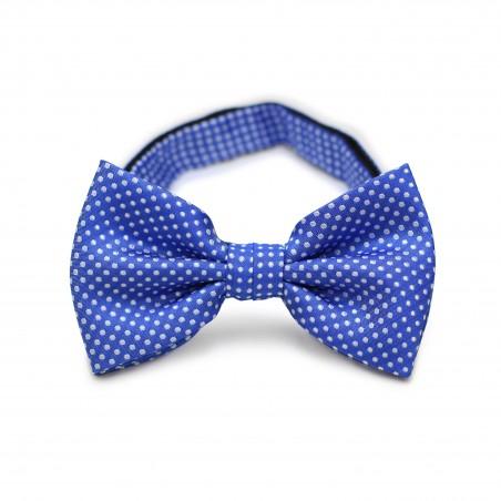 Horizon Blue Pin Dot Bow Tie