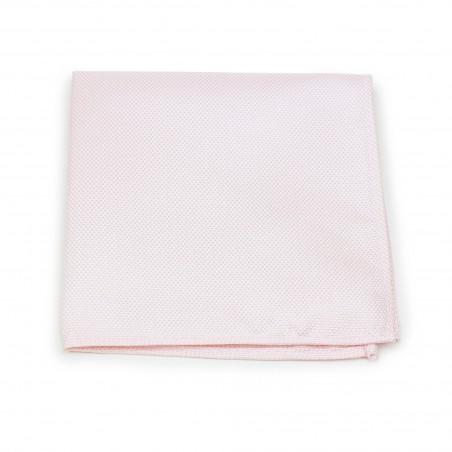 Bridal Blush Pocket Square