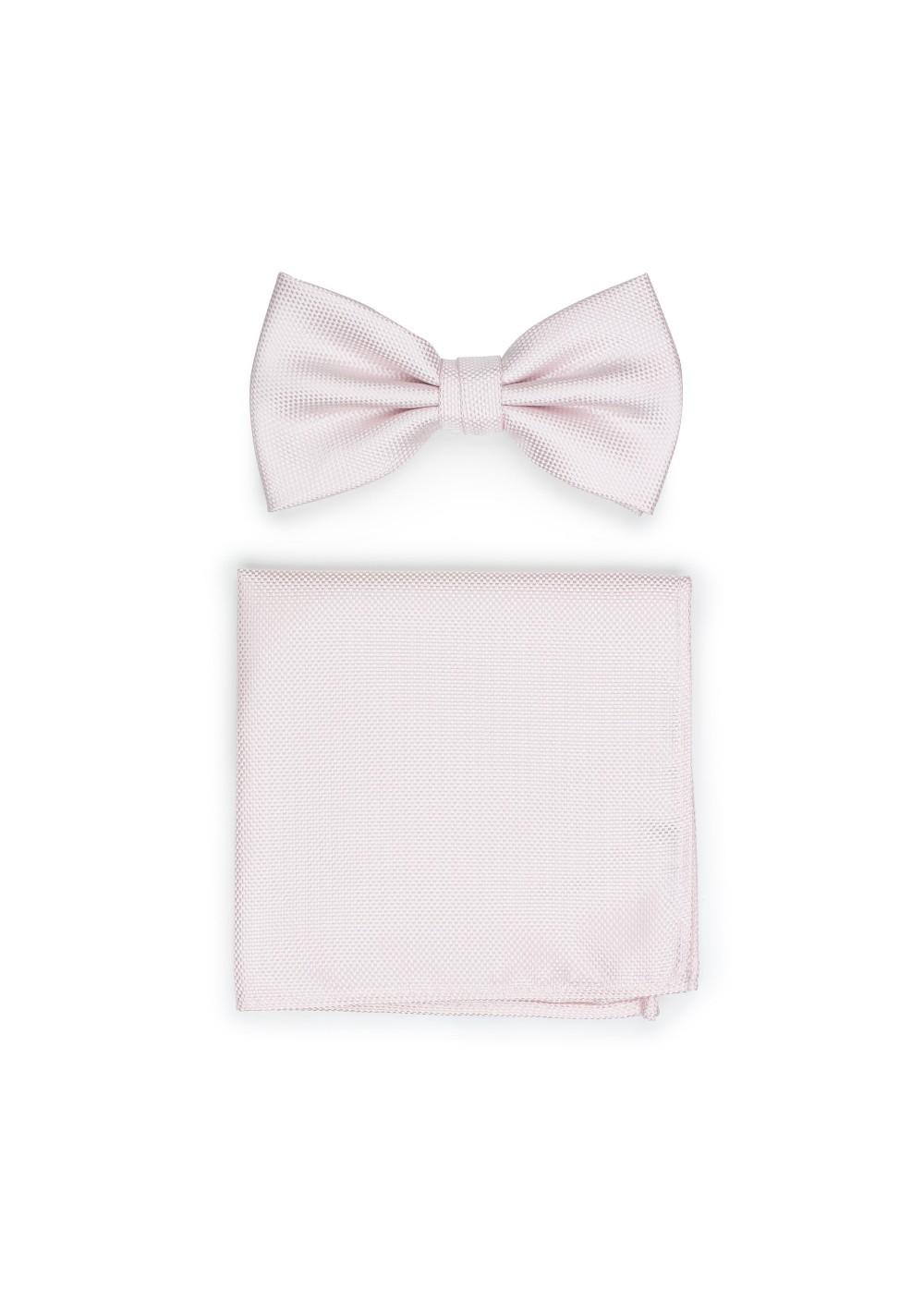 Bridal Blush Bowtie Set
