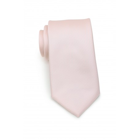 Peach Blush Tie in Matte Finish