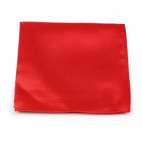 Bright Red Mens Hanky