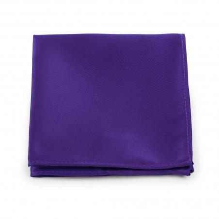 Regency Purple Pocket Square