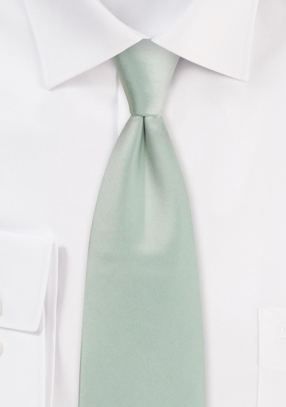 Dusty Sage Necktie