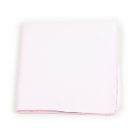 Linen Texture Pocket Square in Blush