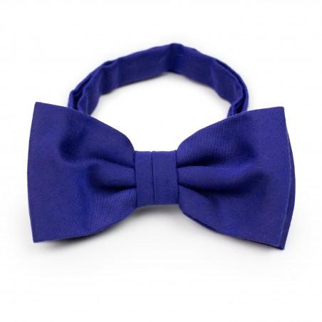 Matte Mens Bow Tie in Ultramarine