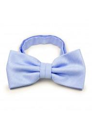 Pastel Blue Bowtie in Linen Texture