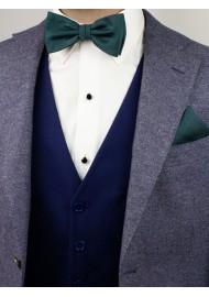 Gem Green Bowtie Set Styled